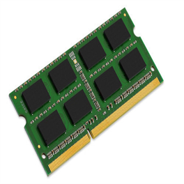 KINGSTON Memory KVR16LS11/4, DDR3 SODIMM, 1600MHz, Single Rank, 4GB