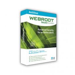 Webroot SecureAnywhere Antivirus για 1 χρήστη / 1 χρόνο